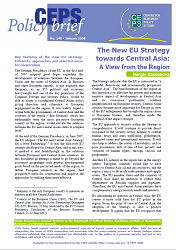 №148. The New EU Strategy towards Central Asia: A View from the Region