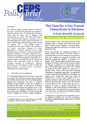 №180. The Case for a Gas Transit Consortium in Ukraine: A Cost-Benefit Analysis