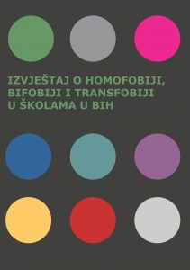 The report on homophobia, bi-phobia and transphobia in schools in BiH Cover Image
