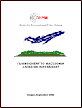 Flying cheap to Macedonia. A mission impossible? Cover Image