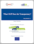 What Open Government Partnership (OGP) Does for Transparency? Cover Image