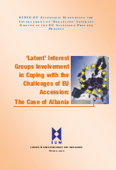 'Latent' Interest Groups Involvement in Coping with the Challenges of EU Accession: The Case of Albania