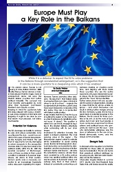 DPC BOSNIA DAILY: Europe Must Play a Key Role in the Balkans