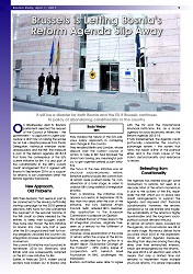 DPC BOSNIA DAILY: Brussels is Letting Bosnia's Reform Agenda Slip Away