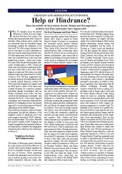 DPC BOSNIA DAILY: Croatian and Serbian Policy in Bosnia. Help or Hindrance?