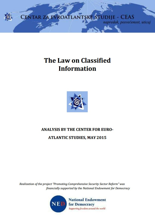The Law on Classified Information