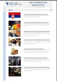 № 02 SELDI Anti-Corruption-Newsletter