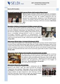 № 22 SELDI Anti-Corruption-Newsletter