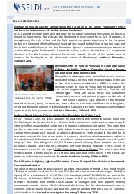 № 29 SELDI Anti-Corruption-Newsletter