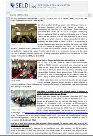 № 30 SELDI Anti-Corruption-Newsletter