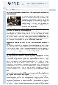 № 34 SELDI Anti-Corruption-Newsletter