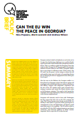 (007) CAN THE EU WIN THE PEACE IN GEORGIA?