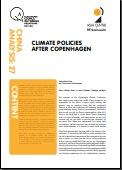 (017) CLIMATE POLICIES AFTER COPENHAGEN