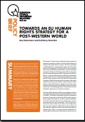 (023) TOWARDS AN EU HUMAN RIGHTS STRATEGY FOR A POST-WESTERN WORLD