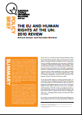 (024) THE EU AND HUMAN RIGHTS AT THE UN: 2010 REVIEW