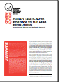 (034) CHINA'S JANUS-FACED RESPONSE TO THE ARAB REVOLUTIONS