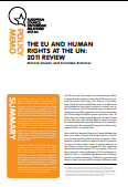 (039) THE EU AND HUMAN RIGHTS AT THE UN: 2011 REVIEW
