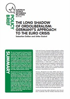 (049) THE LONG SHADOW OF ORDOLIBERALISM: GERMANY'S APPROACH TO THE EURO CRISIS