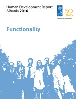 UNDP – Human Development Report 2016 – ALBANIA - Functionality Cover Image