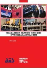 Albania-Serbia relations in the Eyes of the Albanian Public 2015
