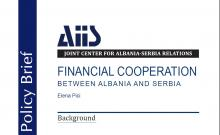 FINANCIAL COOPERATION BETWEEN ALBANIA AND SERBIA (Policy Brief 2016/06) Cover Image
