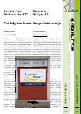 The Belgrade Scales. Letters from Serbia - the 12th Cover Image