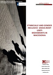 Ethnically and Gender Inclusive Grass‐Root LGBTI Movements in Macedonia