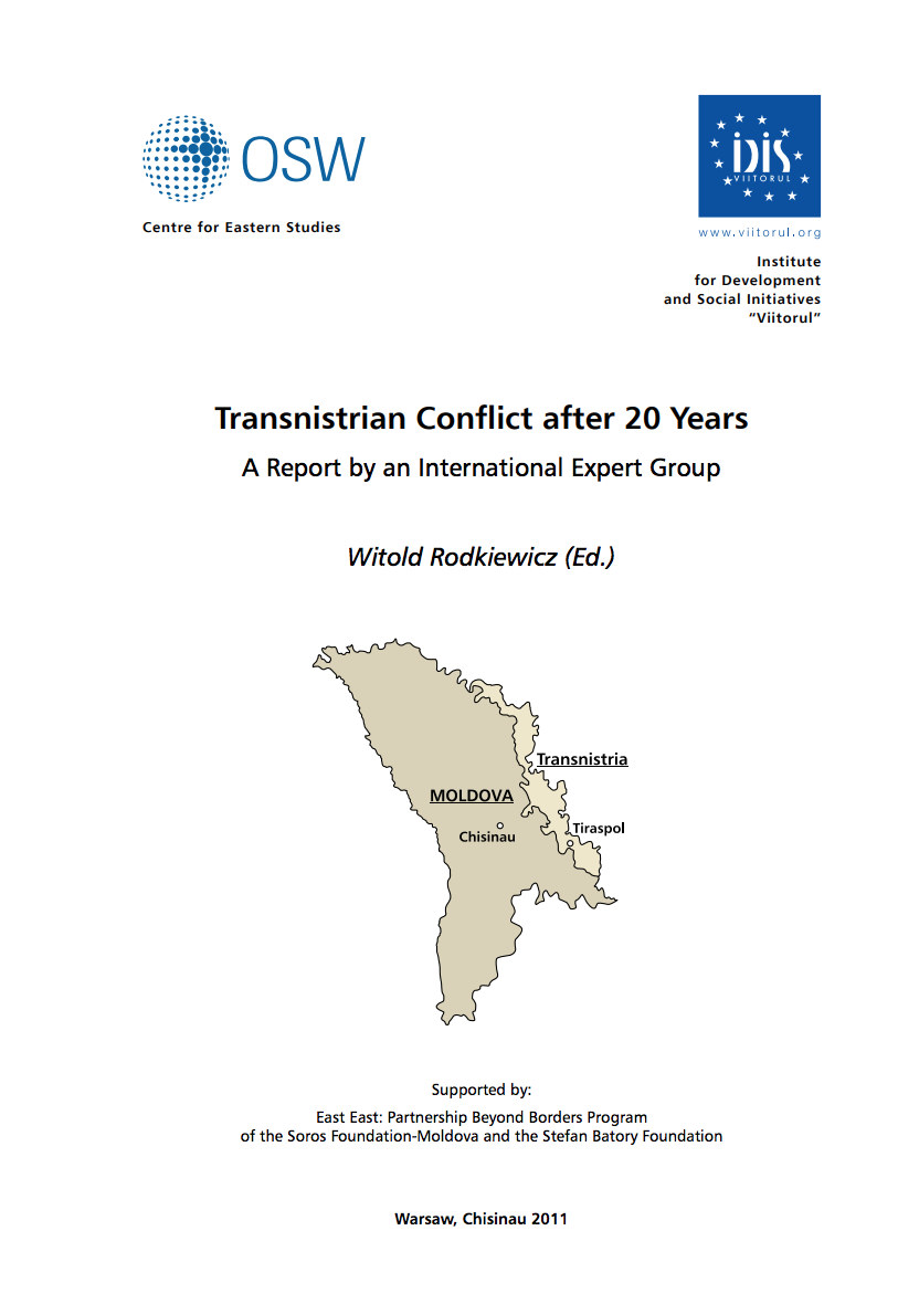 Transnistrian Conflict after 20 Years