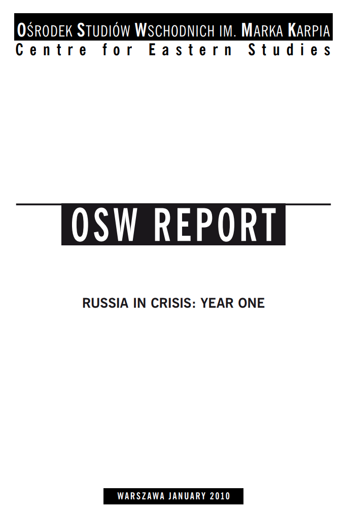 Russia In Crisis: Year One