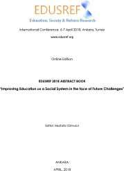 EDUSREF 2018 ABSTRACT BOOK
