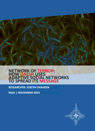 NETWORK OF TERROR: HOW DAESH USES ADAPTIVE SOCIAL NETWORKS TO SPREAD ITS MESSAGE