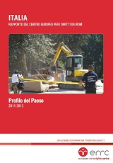 ITALY: Country Profile. Report of the European Roma Rights Centre Cover Image