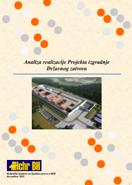 Analysis of the State Prison Construction Project Realisation Cover Image