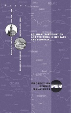 Political Participation and the Roma in Hungary and Slovakia Cover Image