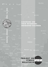 Albanians and Their Neighbors: Unfinished Business Cover Image