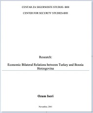Economic Bilateral Relations between Turkey and Bosnia Herzegovina Cover Image