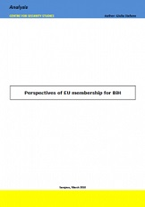 Perspectives of EU membership for BiH
