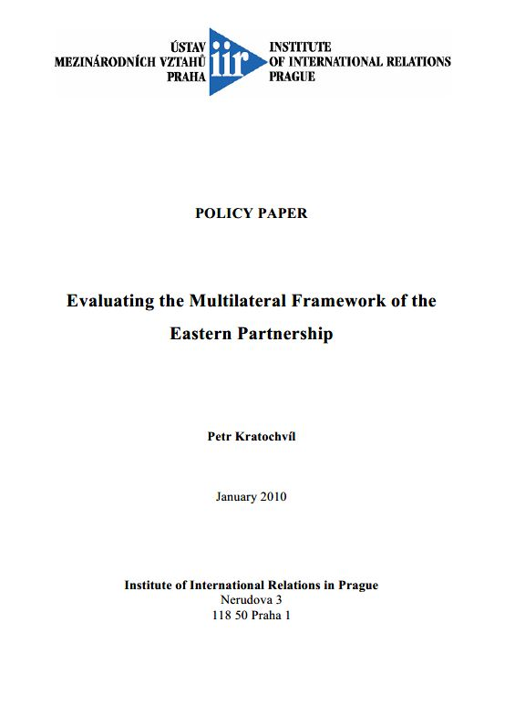 Evaluating the Multilateral Framework of the Eastern Partnership
