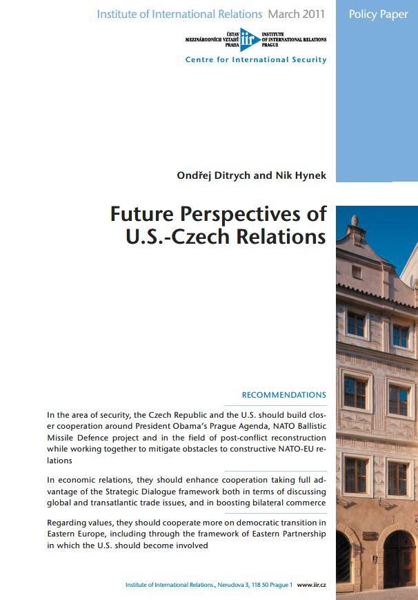 Future Perspectives of U.S.-Czech Relations