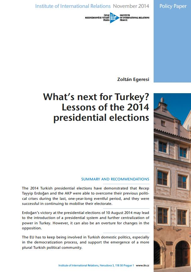 What's next for Turkey? Lessons of the 2014 presidential elections