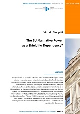 The EU Normative Power as a Shield for Dependency? Cover Image