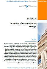 Principles of Russian Military Thought Cover Image