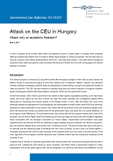 Attack on the CEU in Hungary. Attack only on academic freedom?
