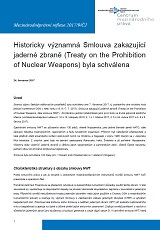 The Historically Essential Treaty on the Prohibition of Nuclear Weapons has been approved Cover Image