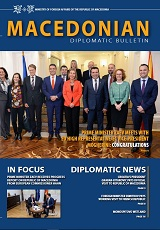 Macedonian Diplomatic Bulletin 2018/127 Cover Image