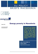 Energy poverty in Macedonia