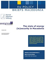 The state of energy (in) security in Macedonia