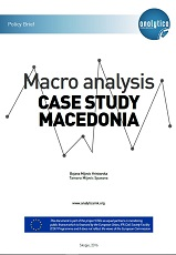 Macro analysis - Case Study Macedonia