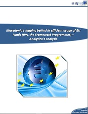 Macedonia's Lagging Behind in Efficient Usage of EU Funds (IPA, Framework Programmes) – Analytica's Analysis