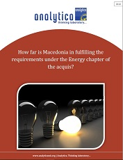 How Far is Macedonia in Fulfilling the Requirements Under the Energy Chapter of the Acquis?